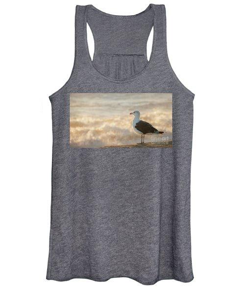 Seagull At Sunrise Women's Tank Top