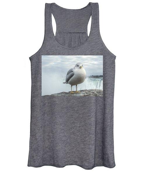 Seagull Model Women's Tank Top