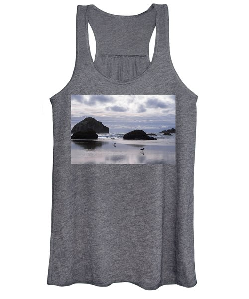 Seagull Reflections Women's Tank Top