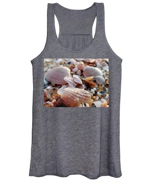 Seashells And Pebbles Women's Tank Top
