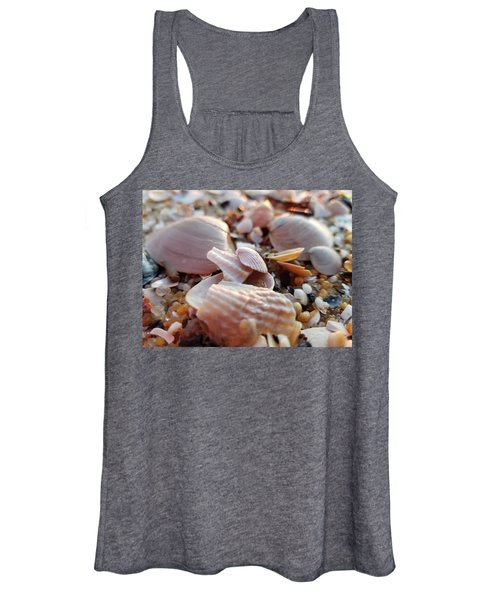 Seashells And Pebbles Women's Tank Top