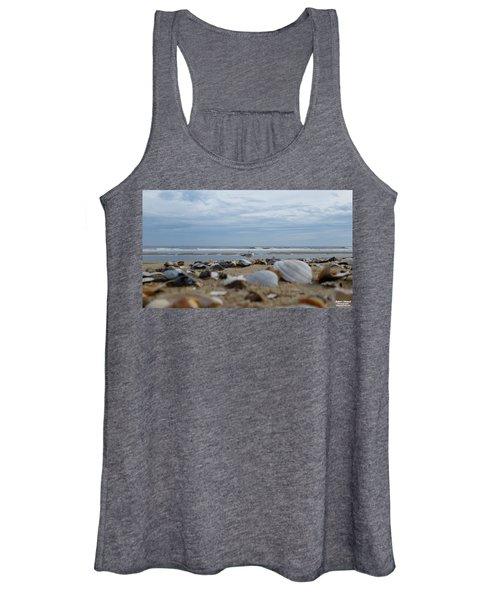 Seashells Seagull Seashore Women's Tank Top