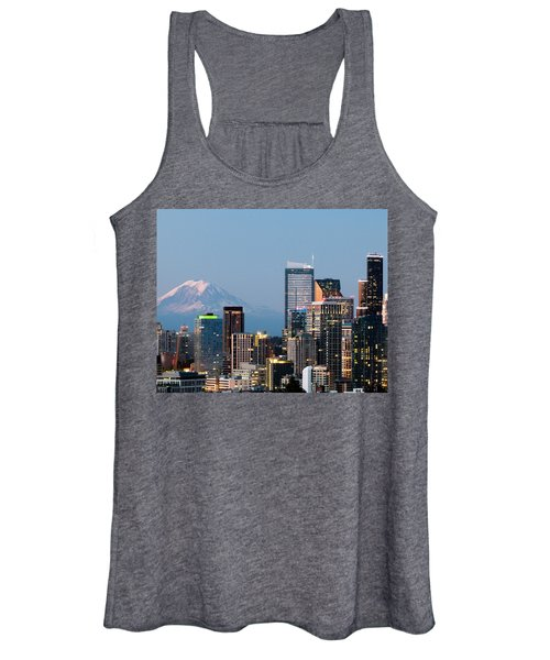 Seattle At First Light II Women's Tank Top