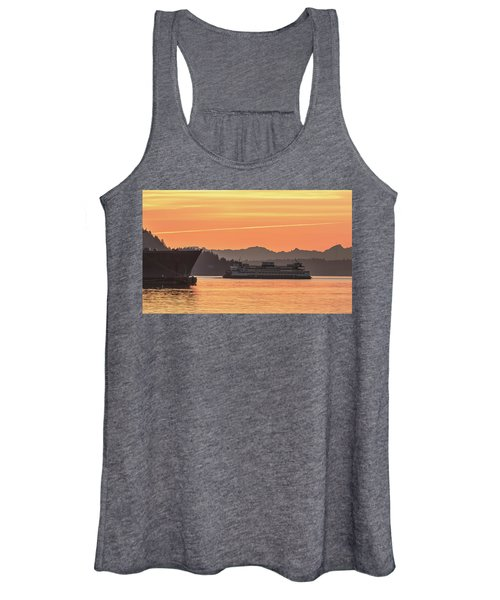 Seattle - Bremerton Ferry Women's Tank Top