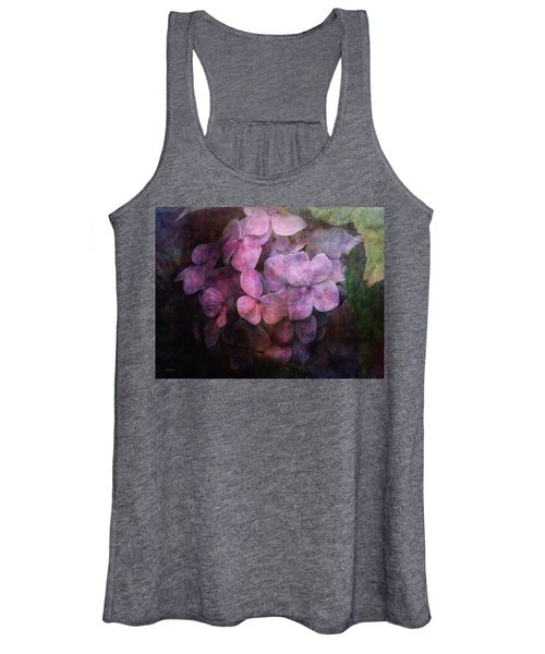 Secret Hydrangea 1538 Idp_2 Women's Tank Top