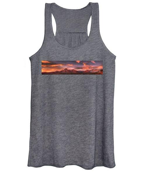 Sedona Sunset Panorama Women's Tank Top