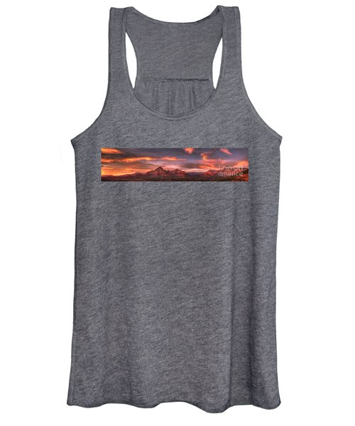 Sedona Sunset Panorama Women's Tank Top