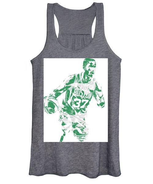 Semi Ojeleye Boston Celtics Pixel Art 2 Women's Tank Top