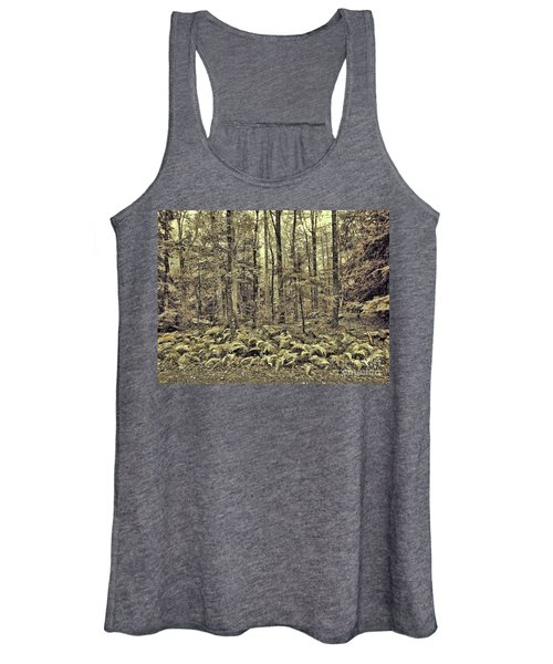 Sepia Landscape Women's Tank Top