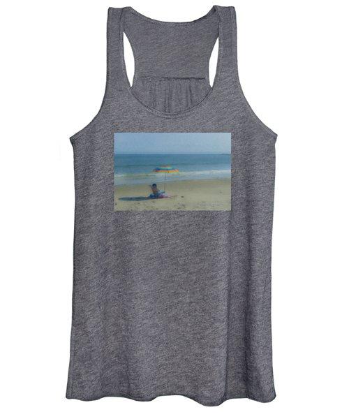 September Beach Reader Women's Tank Top