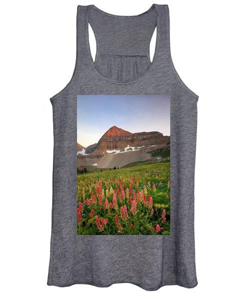 September Wildflowers Women's Tank Top