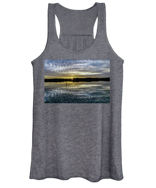 Serenity On A Paddleboard Women's Tank Top