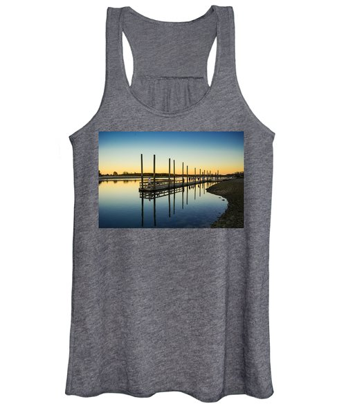 Serenity Sunset Kings Park New York Women's Tank Top
