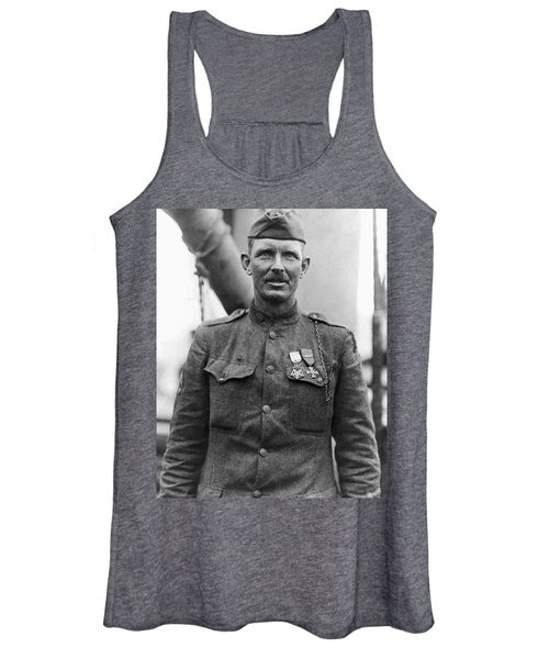 Sergeant York - World War I Portrait Women's Tank Top