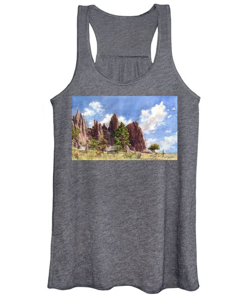 Settler's Park, Boulder, Colorado Women's Tank Top