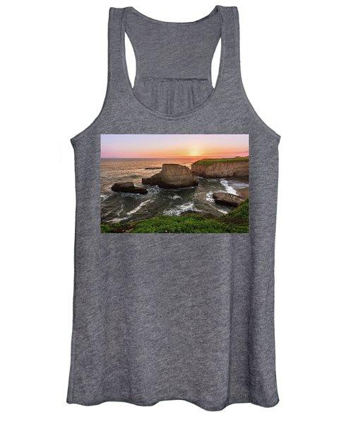 Shark Fin Cove Sunset Women's Tank Top