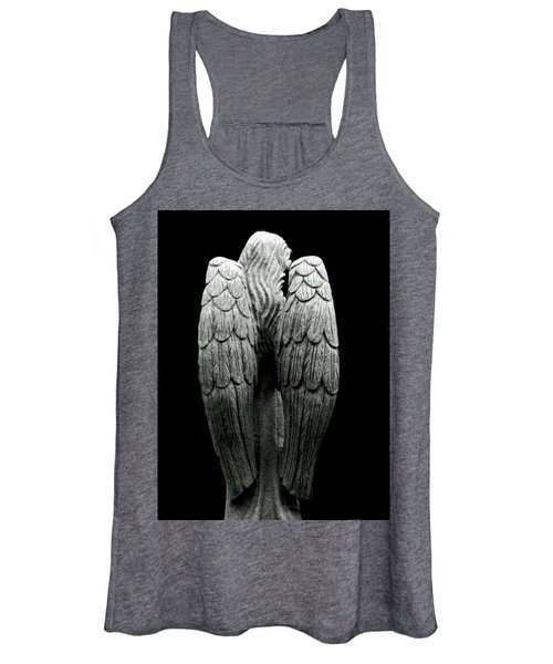 She Talks With Angels Women's Tank Top