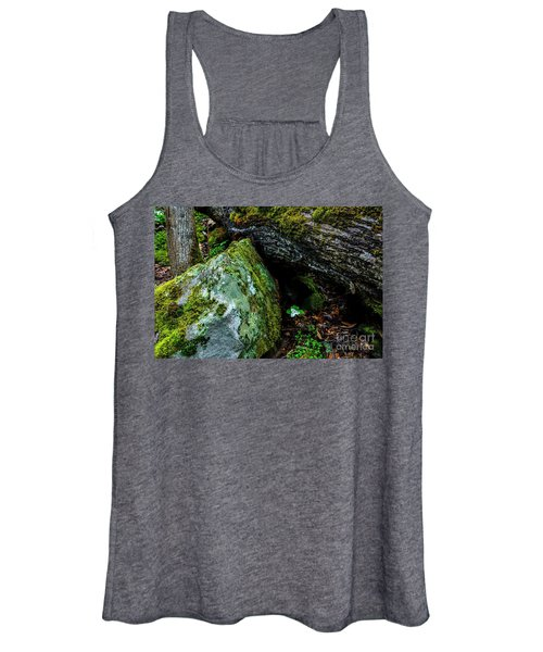 Sheltered By The Rock Women's Tank Top