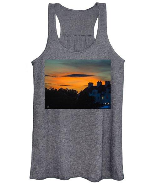 Sherbet Sky Sunset Women's Tank Top