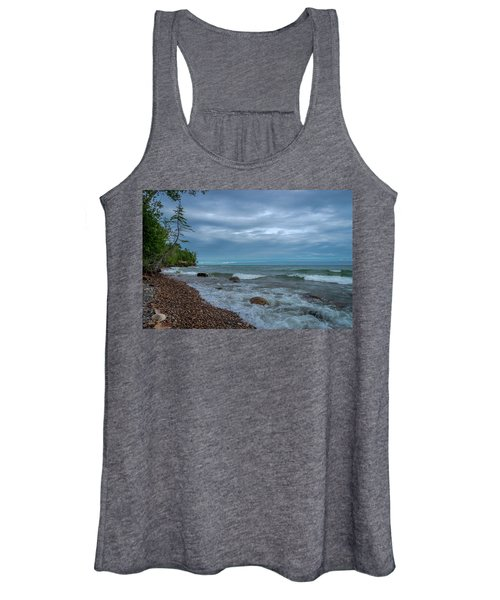Shoreline Clouds Women's Tank Top