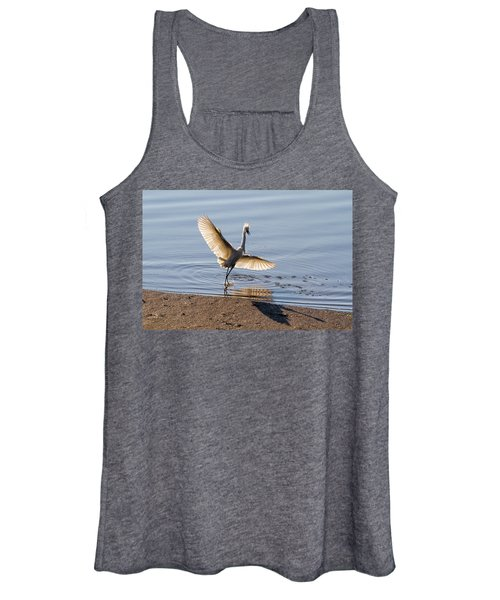Showy Snowy Women's Tank Top