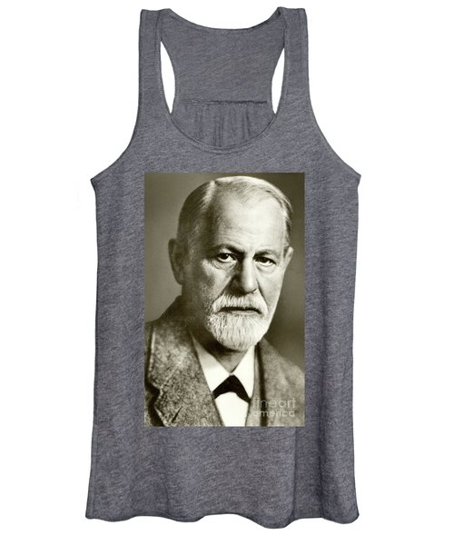 Sigmund Freud The Founder Of Psychoanalysis Women's Tank Top
