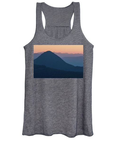 Silhouettes At Sunset, No. 2 Women's Tank Top