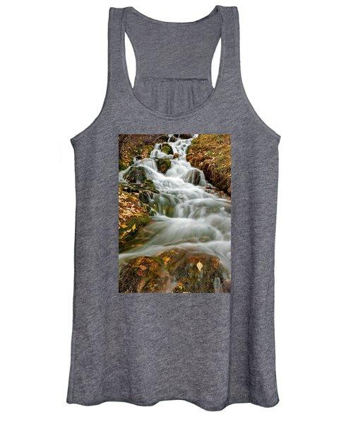 Silky Waterfall Women's Tank Top