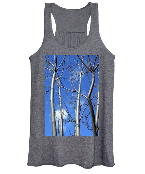 Silver Smooth Women's Tank Top