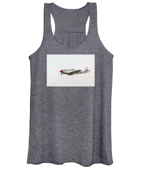 Silver Spitfire Fr Xviiie Women's Tank Top