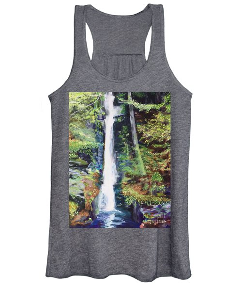 Silver Thread Falls Women's Tank Top