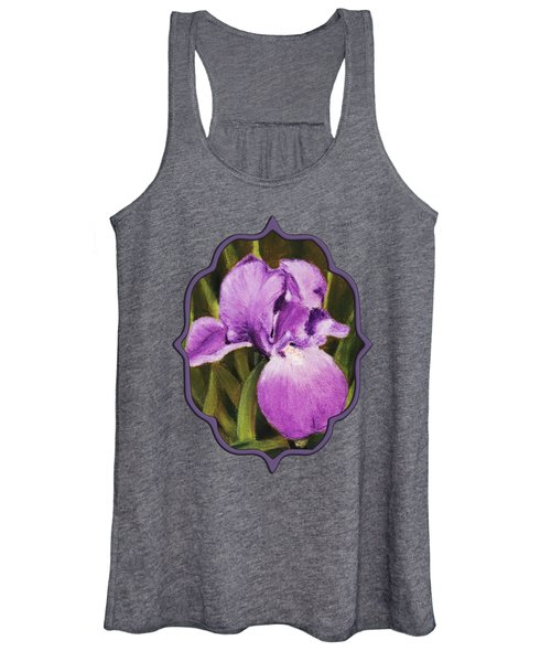 Single Iris Women's Tank Top