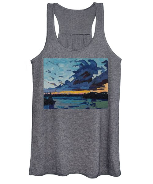 Singleton Sunset Stratocumulus Women's Tank Top