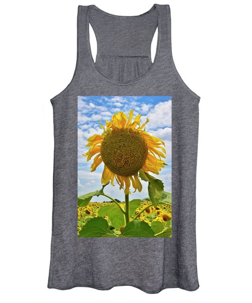 Sister Golden Hair Women's Tank Top