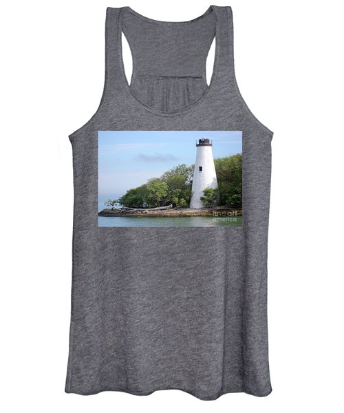 Sister Island Lighthouse Women's Tank Top
