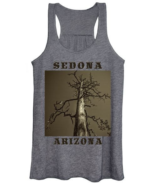 Skeletal Tree Sedona Arizona Women's Tank Top