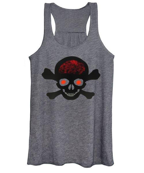 Skull And Bones Women's Tank Top