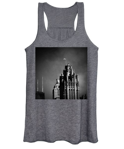 Skyscrapers Then And Now Women's Tank Top
