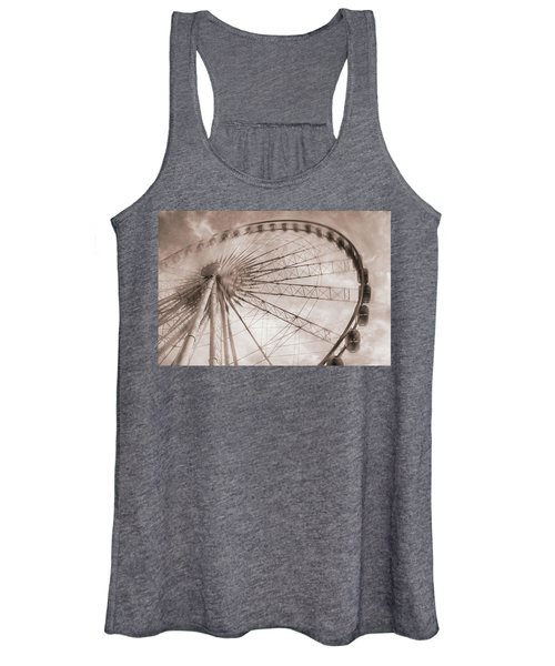 Skywheel In Niagara Falls Women's Tank Top