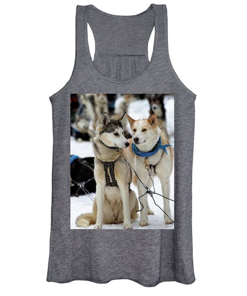 Sled Dogs Women's Tank Top