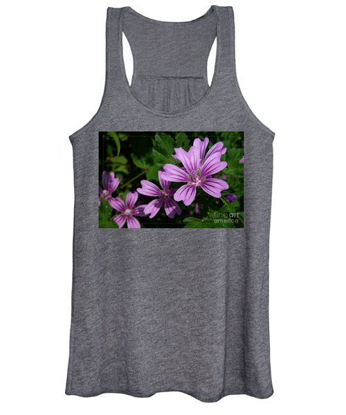 Small Mauve Flowers 6 Women's Tank Top