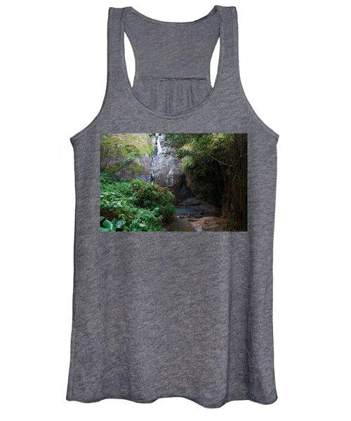 Small Waterfall Women's Tank Top