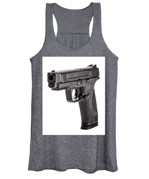 Smith And Wesson Handgun Women's Tank Top