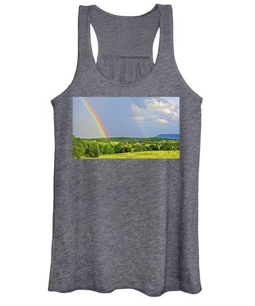 Smith Mountain Lake Rainbow Women's Tank Top