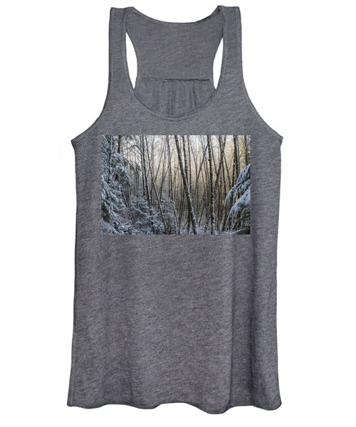 Snow On The Alders Women's Tank Top