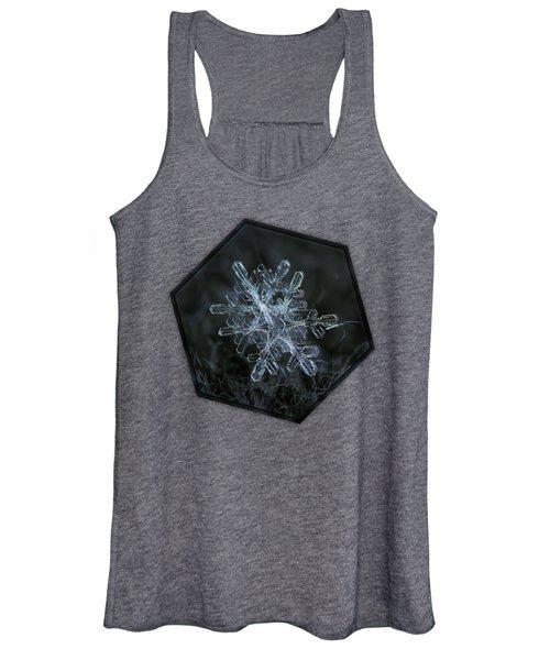 Snowflake Of January 18 2013 Women's Tank Top