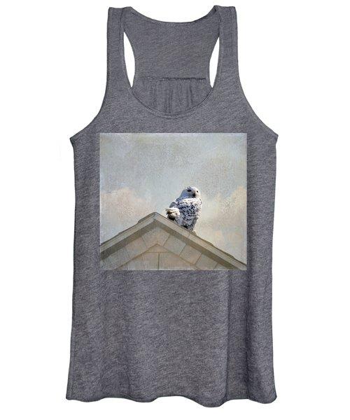 Snowy Owl  Women's Tank Top