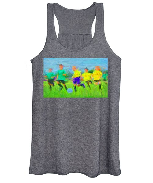 Soccer 3 Women's Tank Top