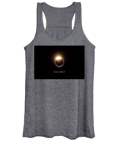 Solar Eclipse Diamond Phase Women's Tank Top