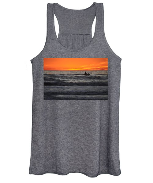 Solitude But Not Alone Women's Tank Top